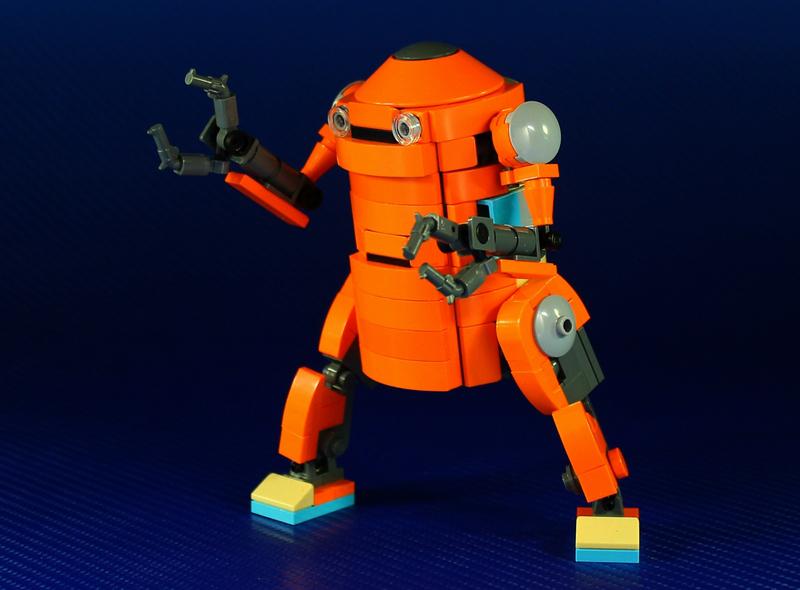 Is This Custom LEGO Mechatrobot the Future of Transportation?