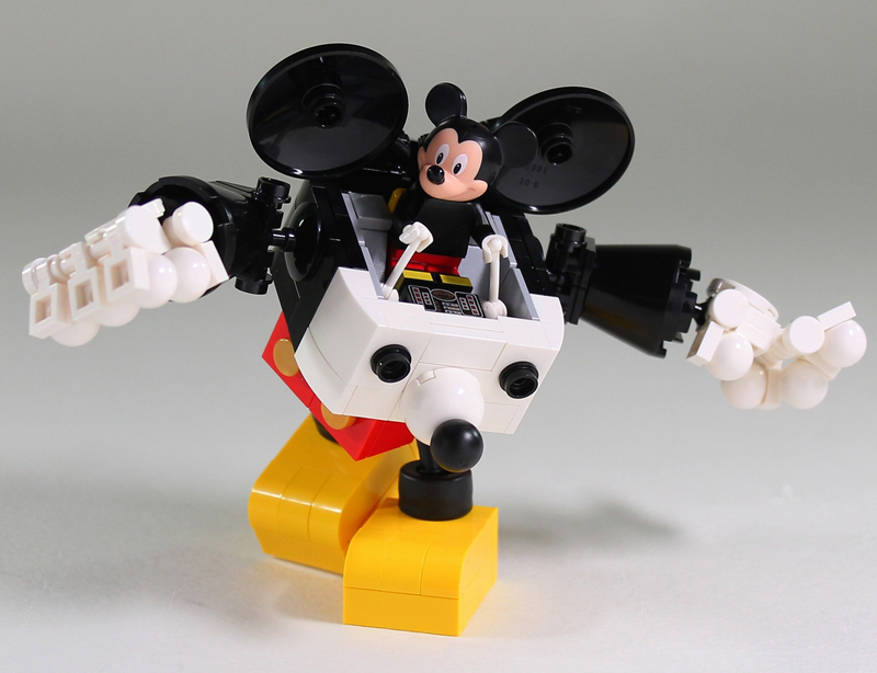 Moko Does It Again With This Mecha Mickey Robo