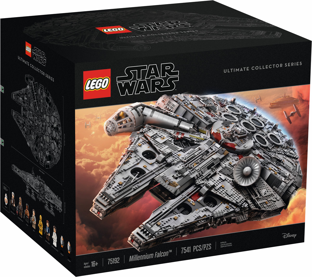 LEGO Star Wars UCS Millennium Falcon (75192) Official Reveal
