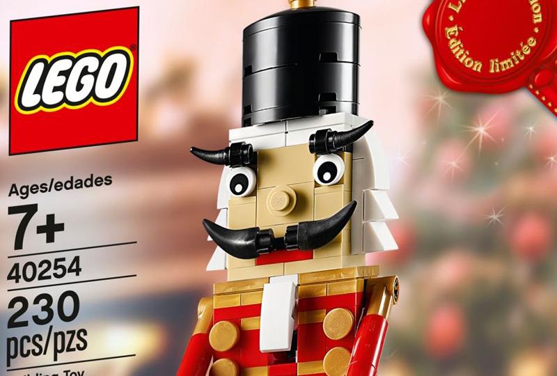LEGO Seasonal Nutcracker (40254) Available as a Brick Friday Promo.