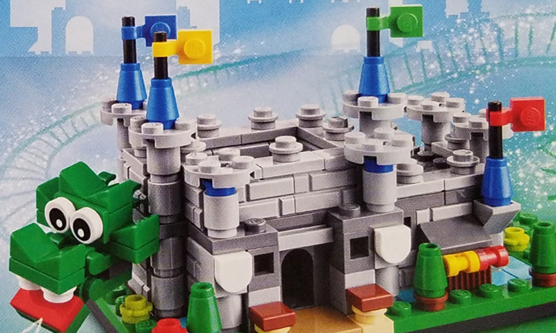 LEGOLAND Store Exclusive Set LEGOLAND Castle (40306) Revealed.