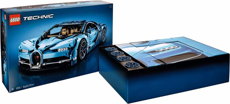 LEGO Technic Chiron Bugatti (42083)