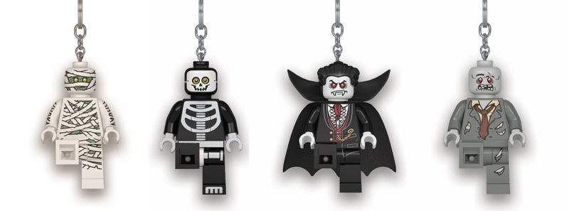 LEGO Minifigure Key Lights