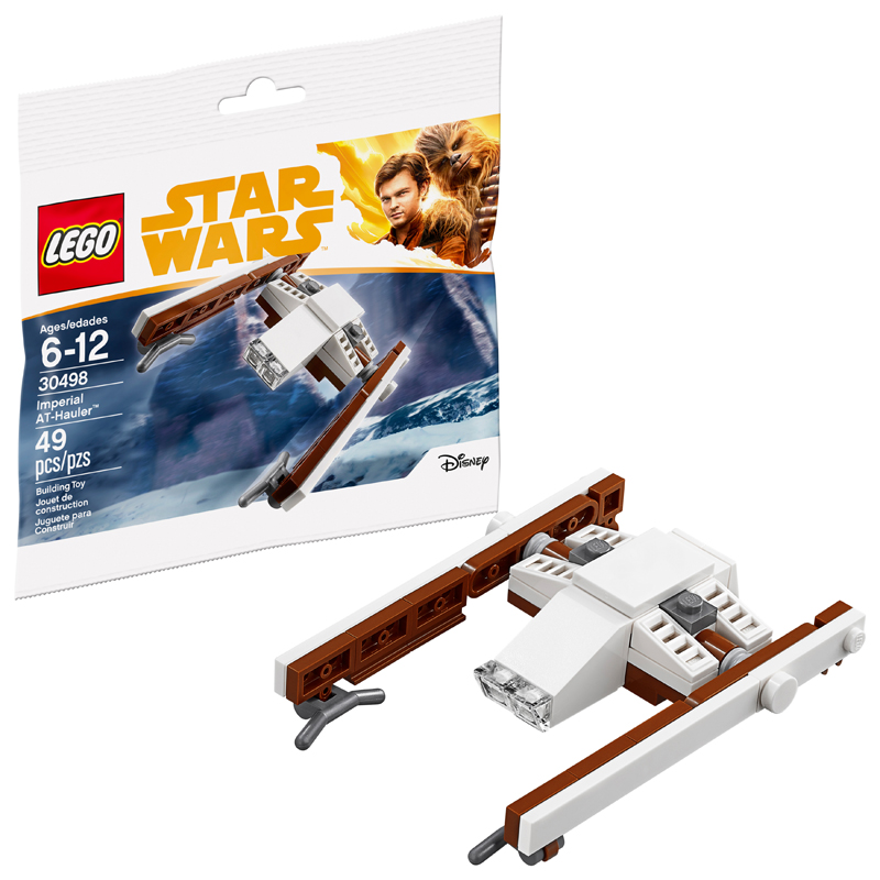 Build Your Own Mini LEGO Star Wars Imperial AT-Hauler (30498)