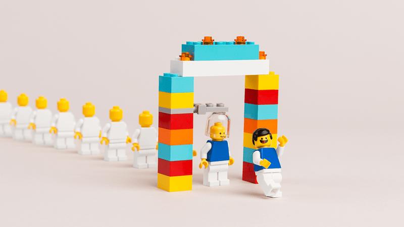 Happy 40th Birthday LEGO Minifigure!