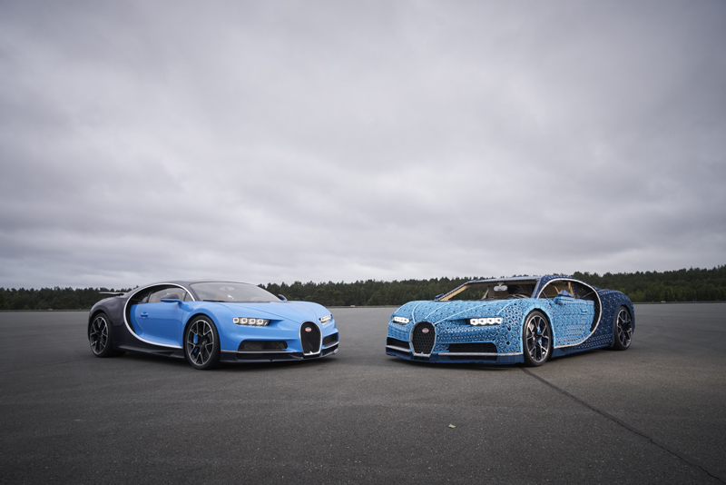 Drivable Custom LEGO Technic Bugatti Chiron