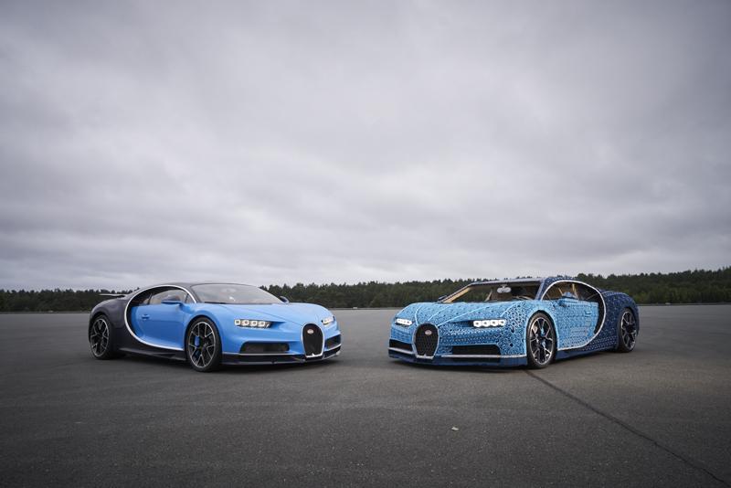 Drivable Custom LEGO Technic Bugatti Chiron