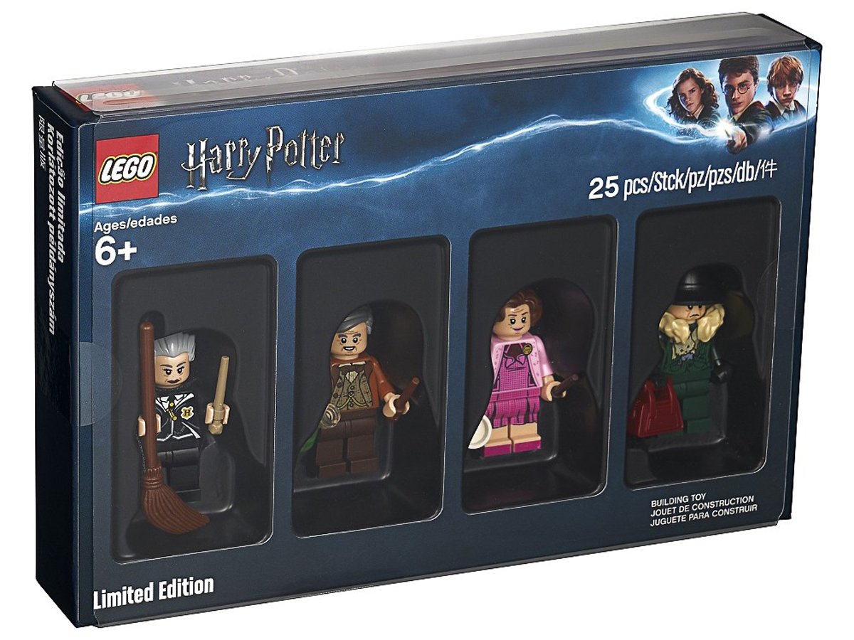 LEGO Bricktober Harry Potter Minifigures (5005254) To Be Available in Barnes & Noble For Only 1 Day