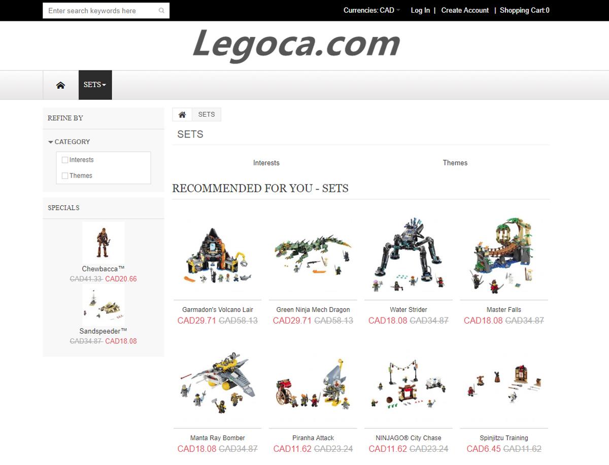 LEGO Speaks Up Against Fake LEGO Shopping Sites