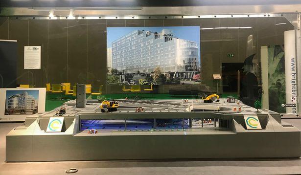 Big LEGO Brick Hospital