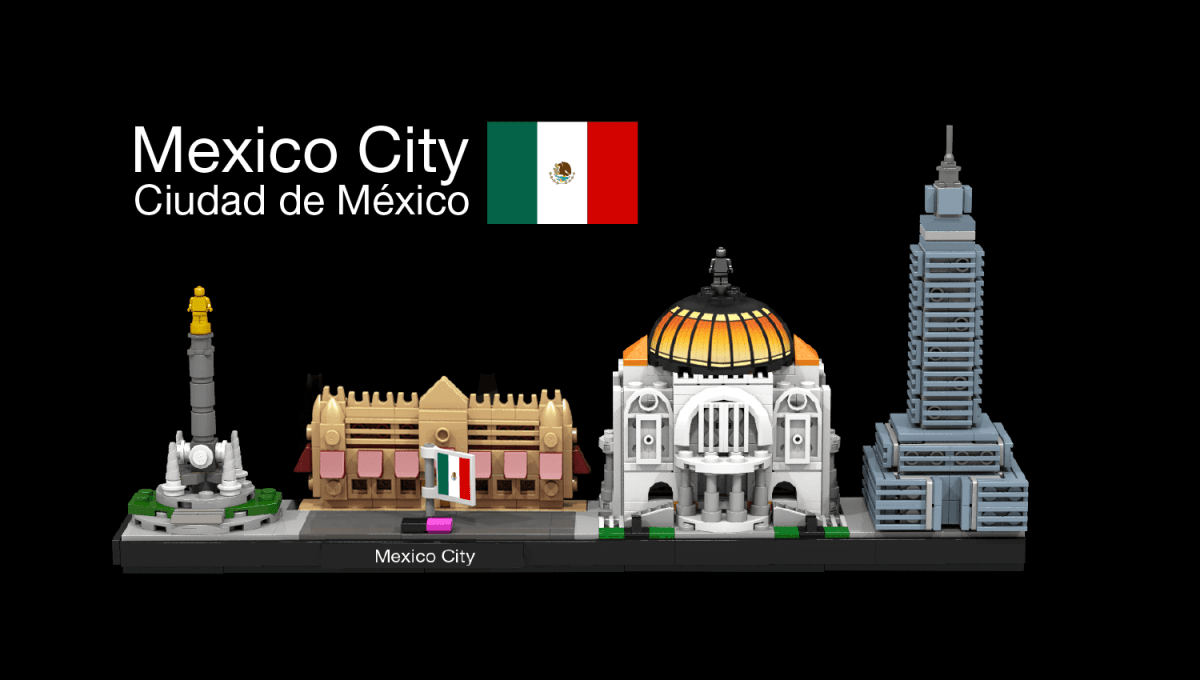 Custom Mexico City Architecture Set Joins the LEGO Ideas Second 2018 Review Stage