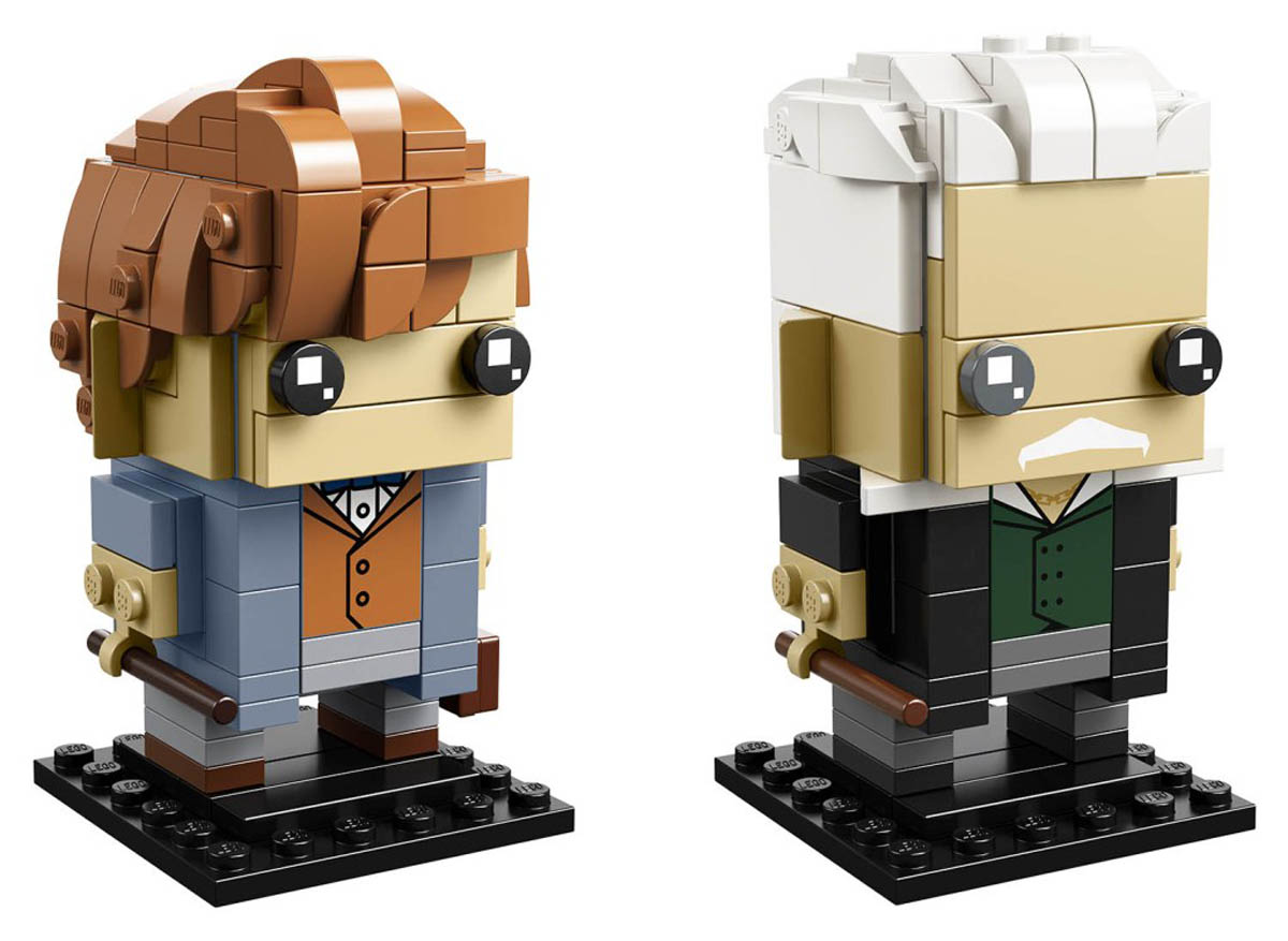 LEGO BrickHeadz Newt Scamander and Gellert Grindelwald (41631) Set Officially Revealed