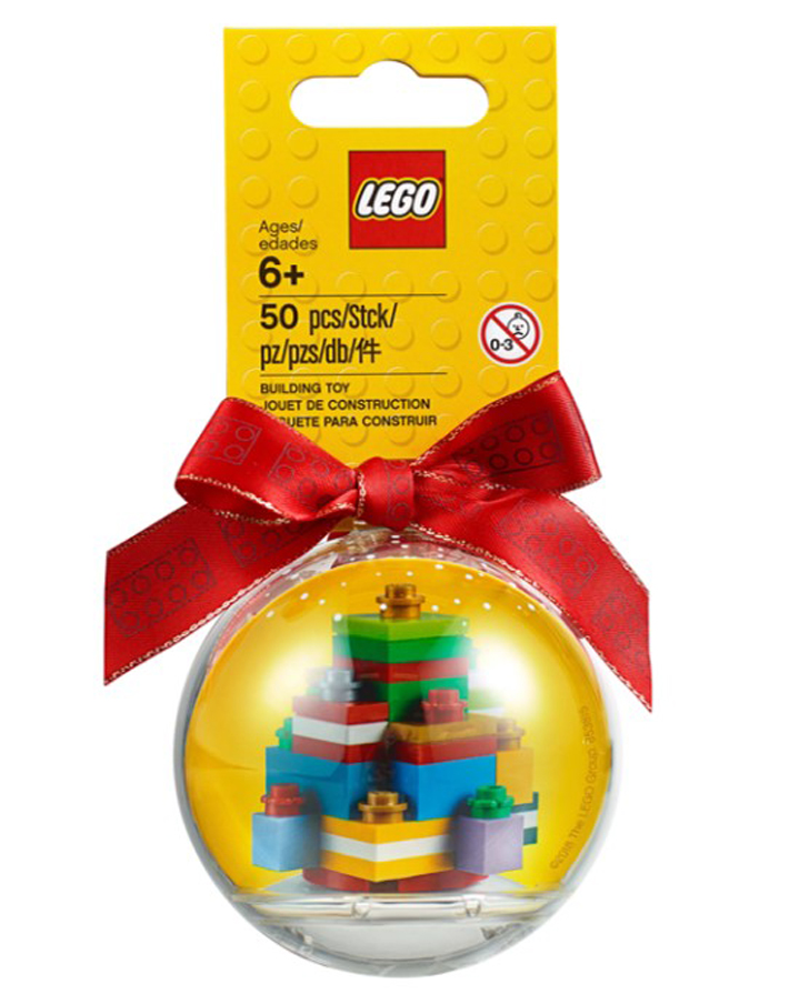 Lego Seasonal Christmas Ornaments For 2018 Revealed