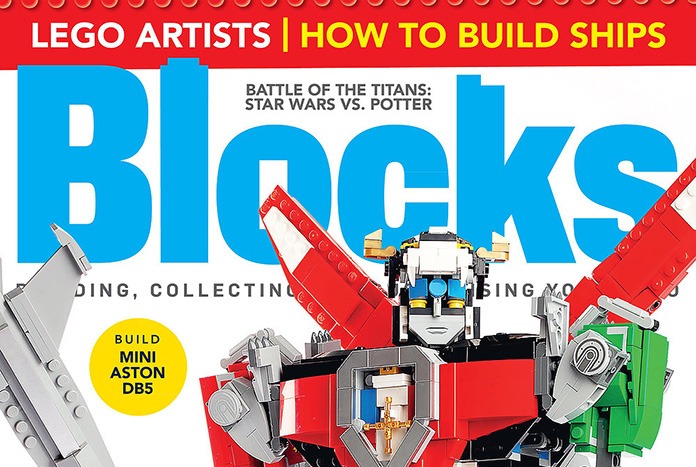 Blocks Magazine Issue 48 Now Available and Features LEGO Ideas Voltron (21311)