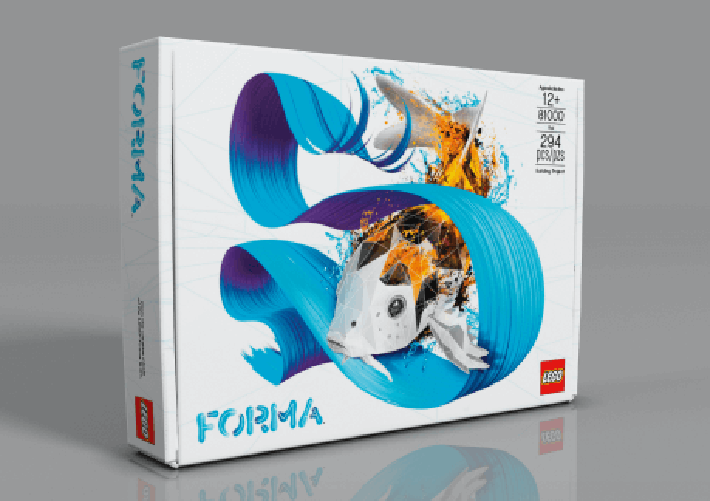 "LEGO Forma Spotlight: Ease of Changing ""Skins"""