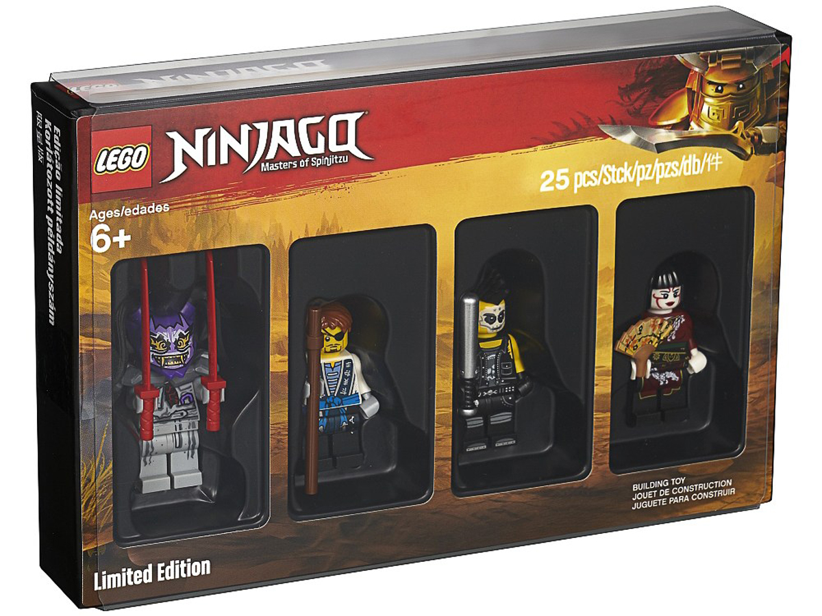 2018 LEGO Ninjago Bricktober Minifigure (5005257) Rumored to be a Black Friday LEGO Store Promo
