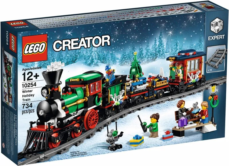 The LEGO Creator Expert Winter Village Station (10259) and Winter Holiday Train (10254) Available Again at LEGO Shop@Home