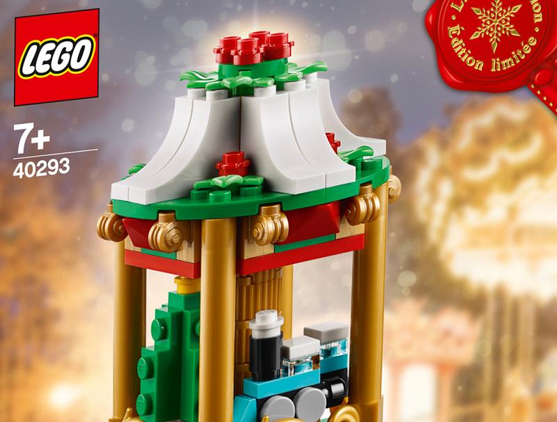 2018 LEGO Seasonal Christmas Carousel (40293) Revealed