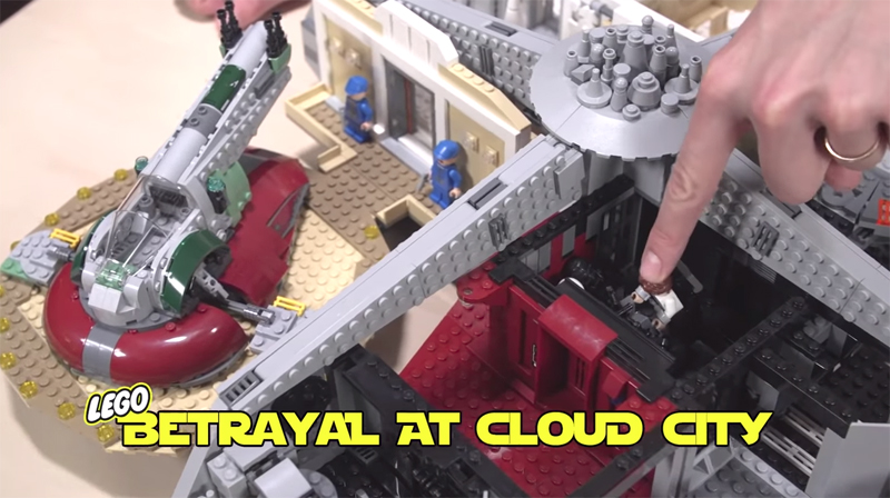 First Video Review of the LEGO Star Wars Betrayal at Cloud City (75222)