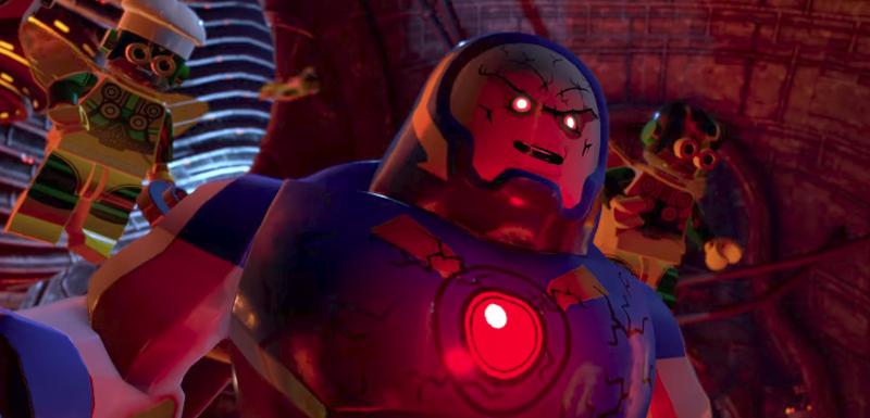 New LEGO DC Super-Villains Clip Reveals Darkseid Gameplay