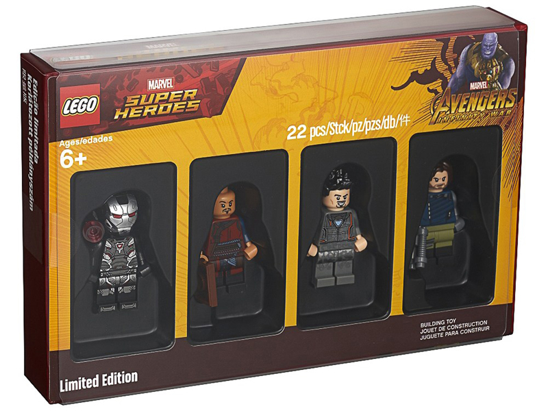 Last 2018 Bricktober LEGO Minifigure Set (5005256) to Finally Hit US LEGO Stores and Shop@Home Next Month