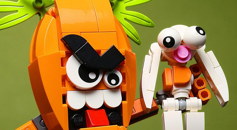 Custom LEGO Carrot