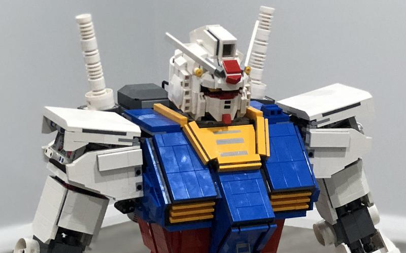 Custom LEGO Gundam