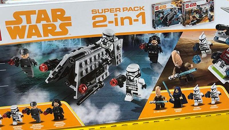 LEGO Star Wars 2-in-1 Super Packs