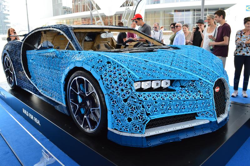 Life-Sized LEGO Technic Bugatti Chiron