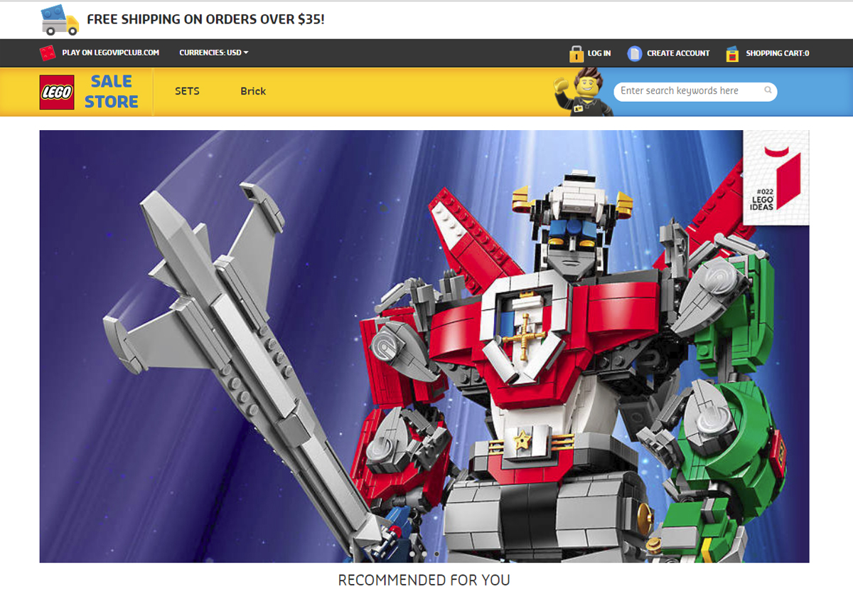 Stay Away From These Fake Lego Shopping Websites
