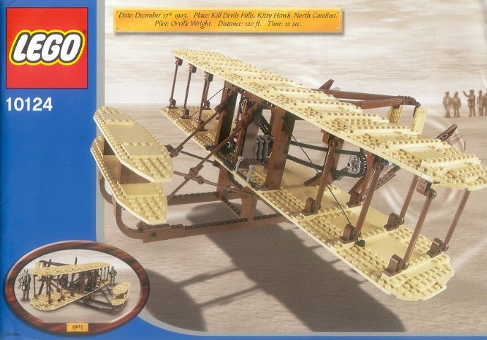Potential Penultimate LEGO Set Giveaway by Guinness World Records Now Up: LEGO Wright Flyer (10124)