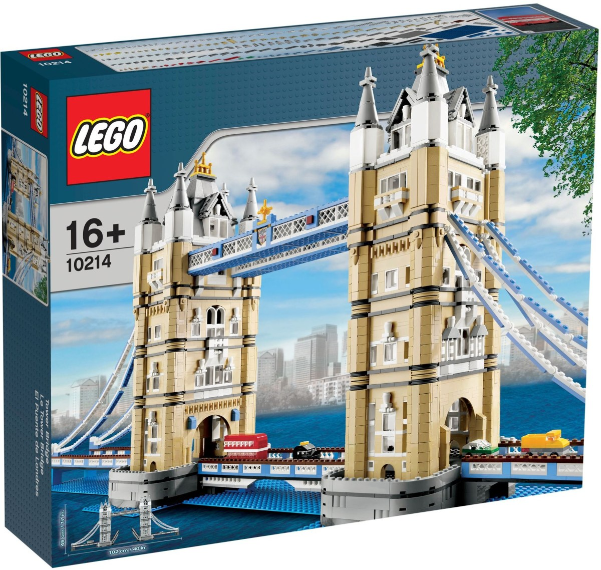 LEGO Creator Tower Bridge (10214) Now On Sale at Walmart
