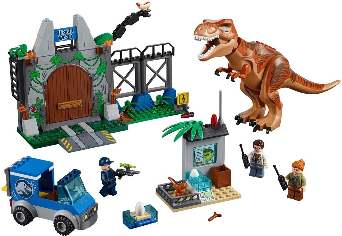 LEGO Jurassic World Discounts Over on Amazon