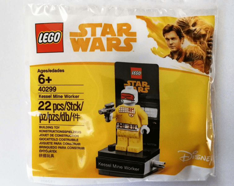 Lego Star Wars Kessel Mine Worker 40299 Available At