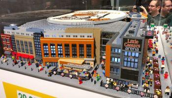 Impressive LEGO MOC of Milwaukee's Miller Park Stadium Took