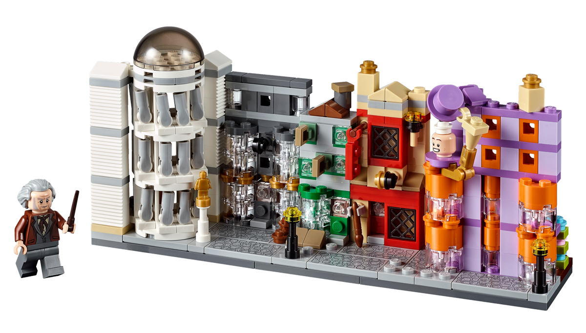 LEGO Harry Potter Diagon Alley (40289) Now Exclusively Available at LEGO Shop@Home
