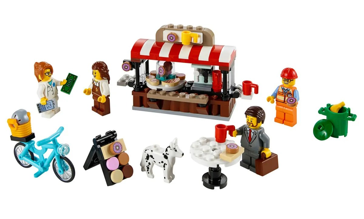 Target's Exclusive LEGO Bean There, Donut That (40358) Now on 20% Discount