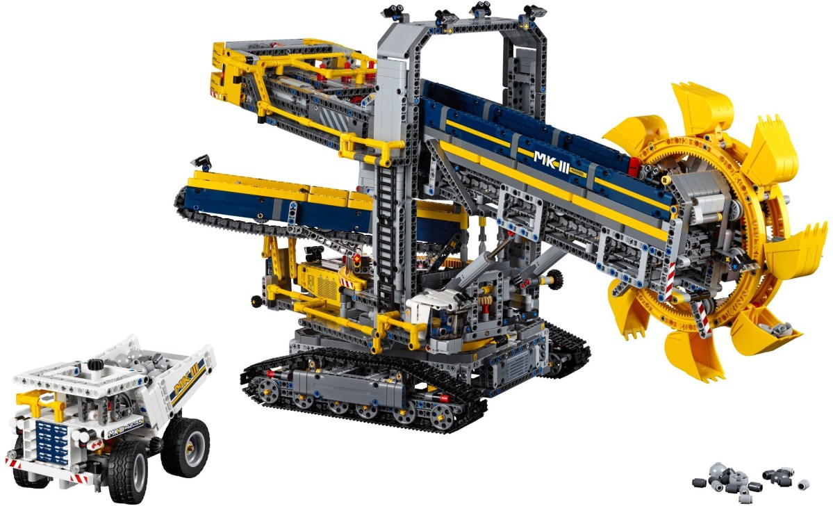 LEGO Technic Bucket Wheel Excavator (42055) Next on Guinness Website Giveaway