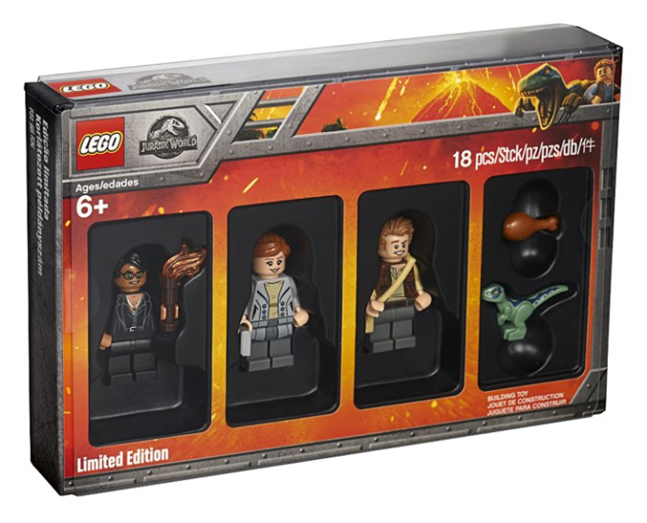 "LEGO Jurassic World (5005255): Last LEGO Bricktober 2018 Set to Be ""Conventionally"" Available in the US, Now on Shop@Home"