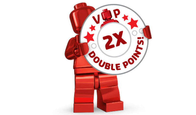 LEGO Double VIP Points Promo Now Up At LEGO Shop@Home