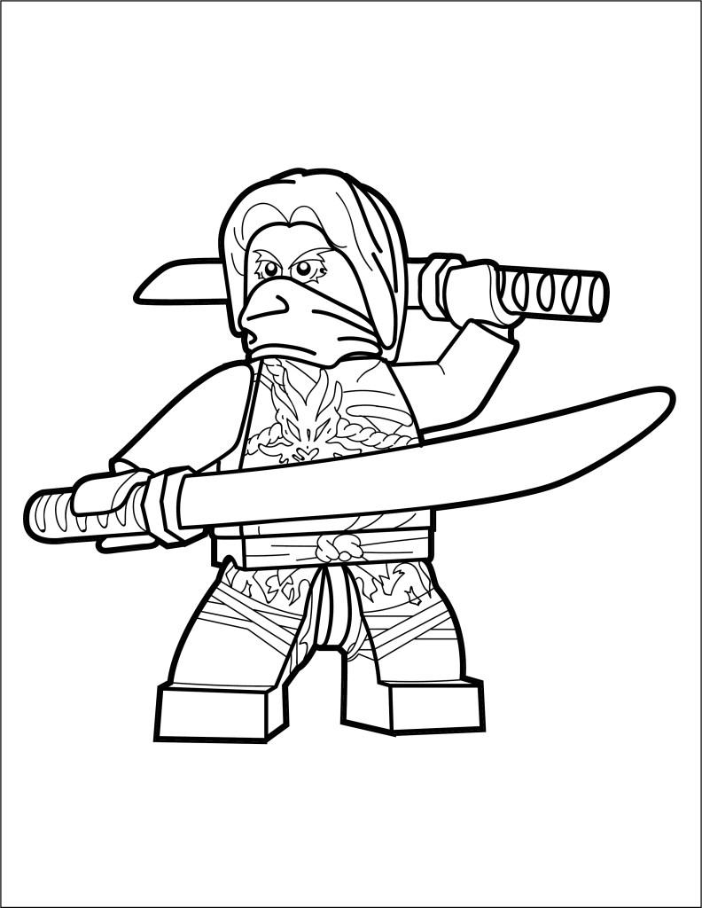 LEGO Ninjago Coloring Page - Morro - The Brick Show