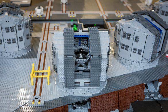 Very Large Telescopes (VLT) Recreated in LEGO