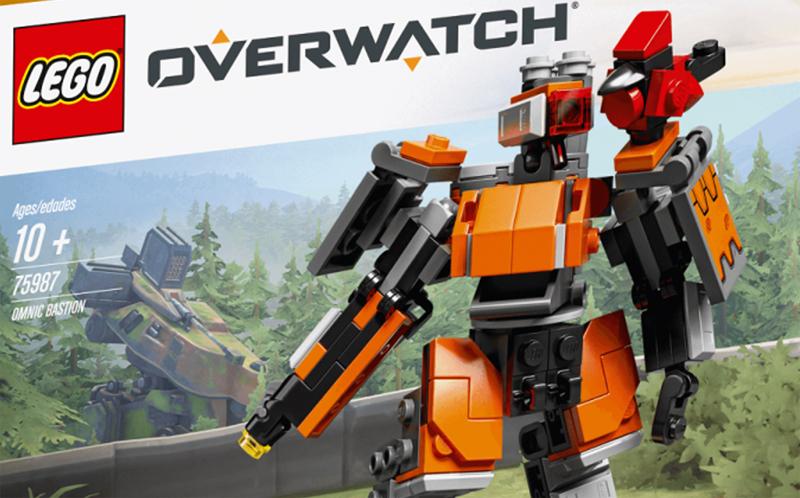 LEGO Overwatch Omnic Bastion (75987)