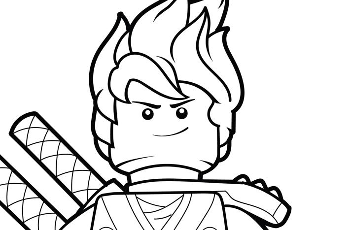 LEGO Ninjago Coloring Page – Kai