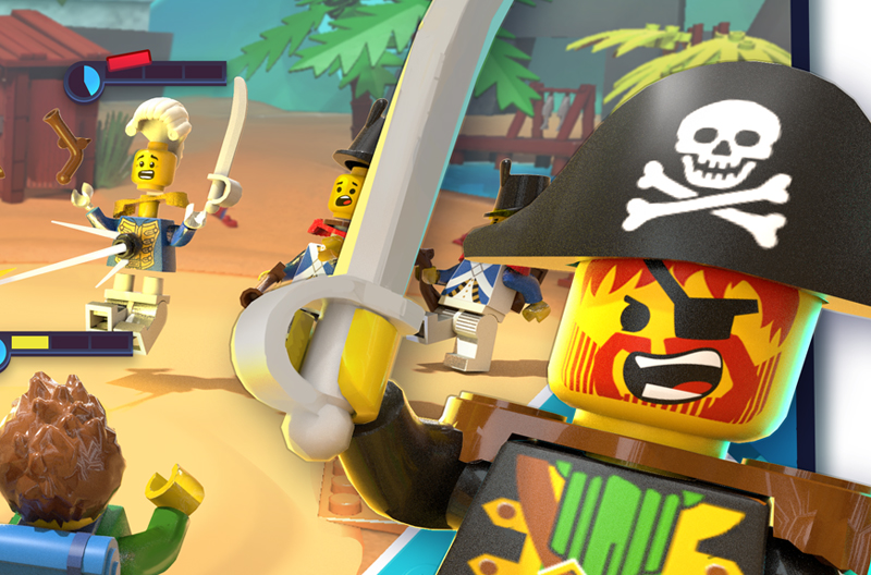 A New LEGO Battle Adventures Mobile Game Is In The Works