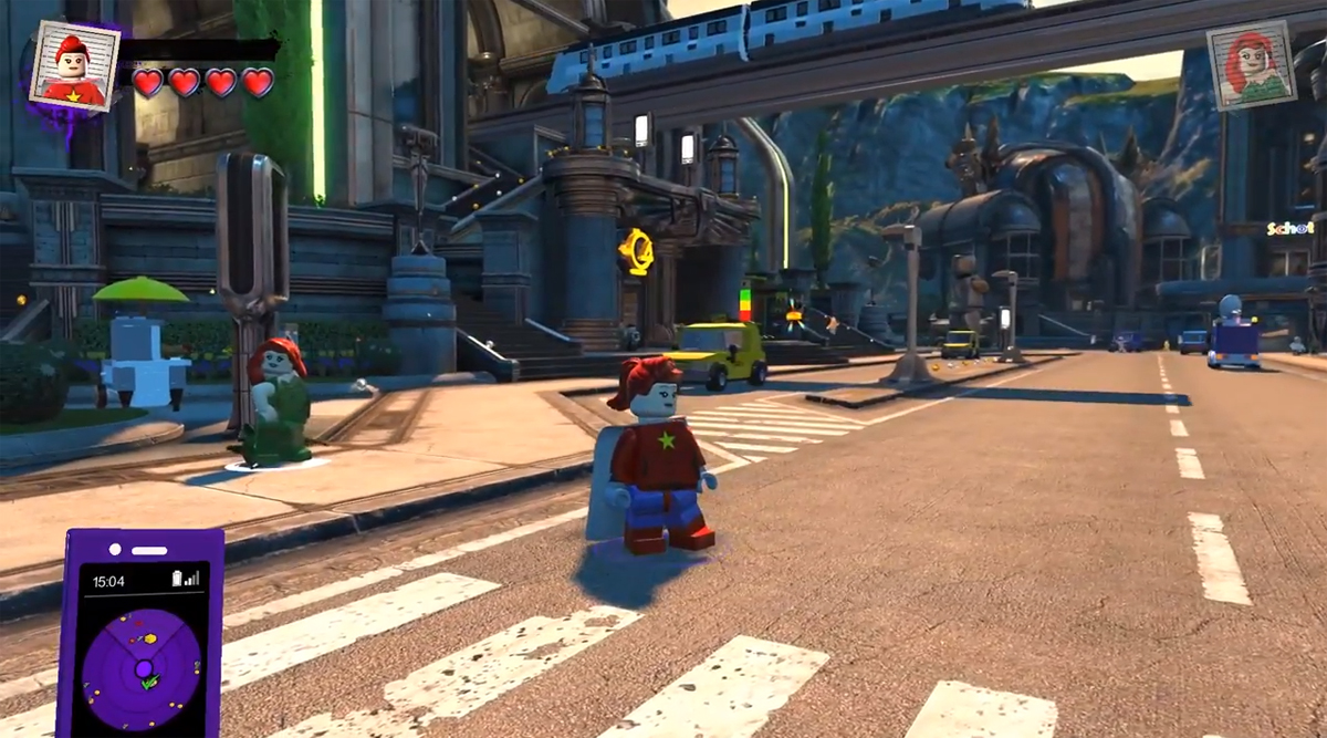A Look at the LEGO DC Super Villains Hub World