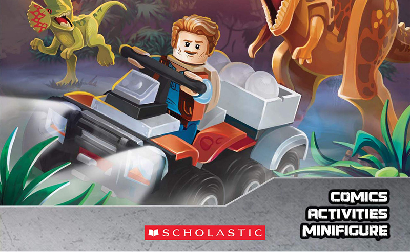 LEGO Jurassic World Activity Book Comes With a Limited Owen Minifigure
