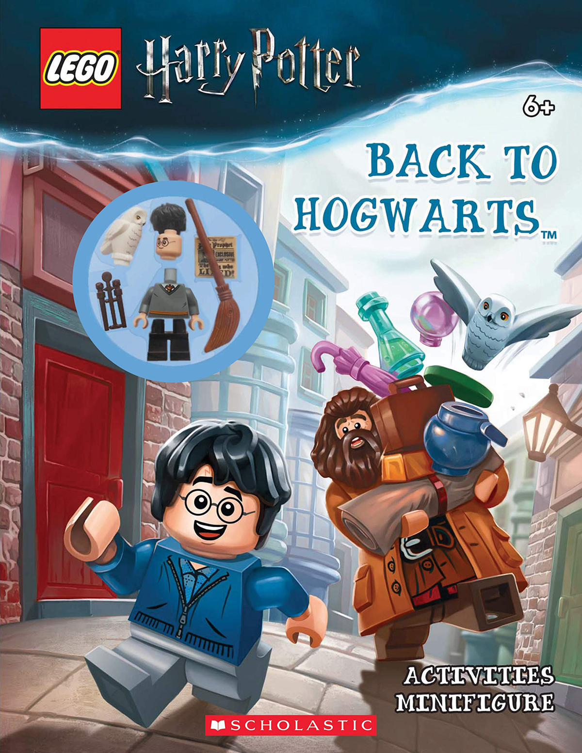 Free LEGO Harry Potter Minifigure With Scholastic's Back To Hogwarts