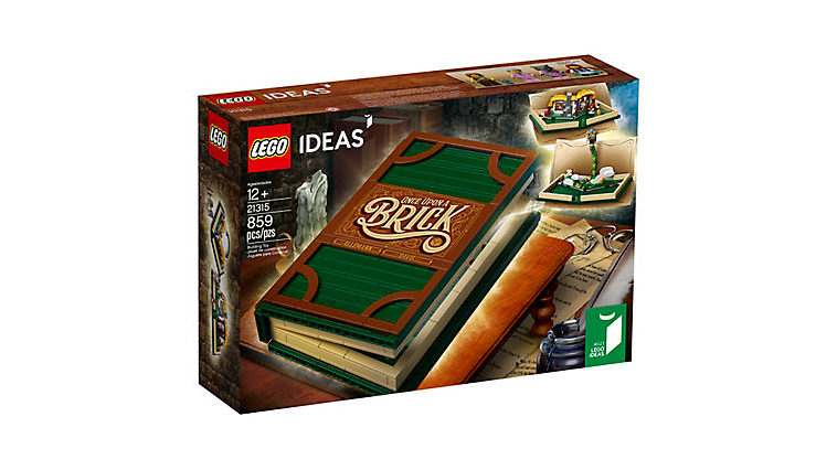"""LEGO Ideas Pop-Up Story Book (21315) Discounted in Amazon, Days After """"LEGO Fold"""" Parody Ad"""