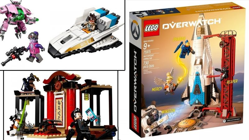 LEGO Overwatch Sets Now Available for Preorder at LEGO Shop@Home UK